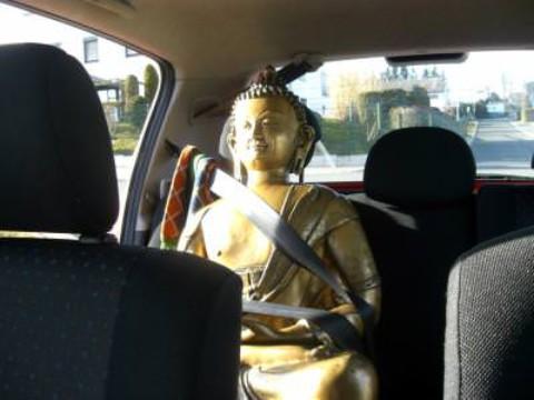 Ein Buddha geht auf Reisen