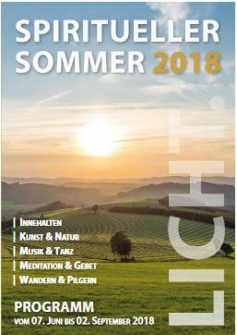 Spiritueller Sommer 2018