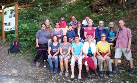 Sangha-Wanderung zur Velda-Höhle